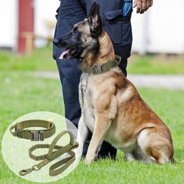 Тактически нашийник и каишка за кучета