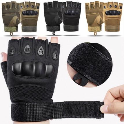 Тактически ръкавици - подсилени с протектор